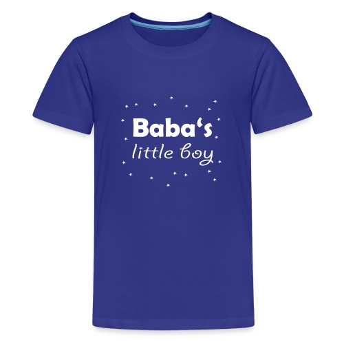 Baba's litte boy Babybody - Teenager Premium T-Shirt