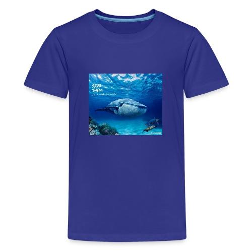 SAVE THEM fww sea - Camiseta premium adolescente