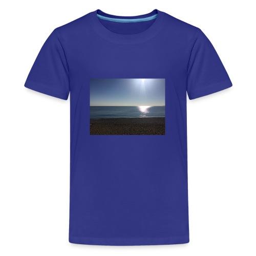Sonne,Meer,Strand,Freiheit,Geschenk,Geschenkidee - Teenager Premium T-Shirt