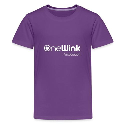 OneWink Association - T-shirt Premium Ado