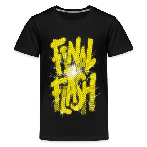 Final Flash - Teenage Premium T-Shirt