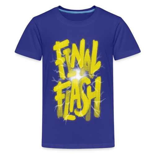 Final Flash - Teenage Premium T-Shirt