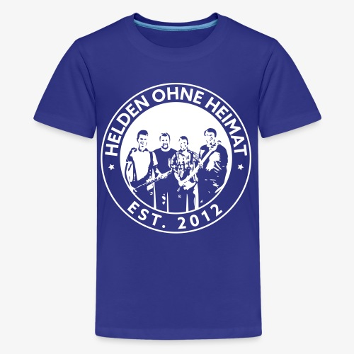 Helden Ohne Heimat Emblem - Teenager Premium T-Shirt