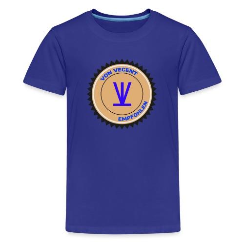 Von Vecent Empfohlen - Teenager Premium T-Shirt