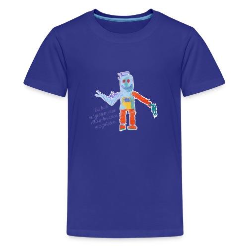 Alien Invasion - Teenager Premium T-Shirt