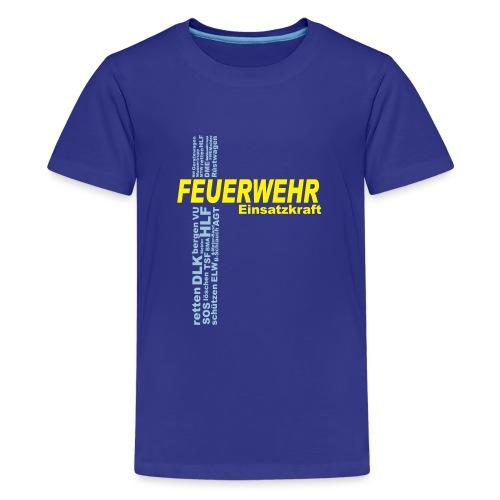 Feuerwehr Einsatzkraft - Teenager Premium T-Shirt