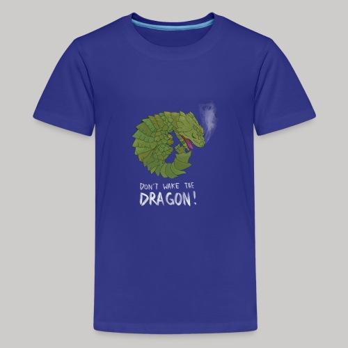 Wecke nicht den Drachen - Teenager Premium T-Shirt