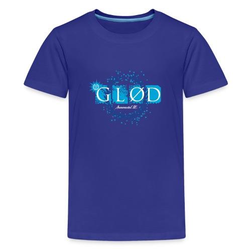 Logo_glod - Premium T-skjorte for tenåringer