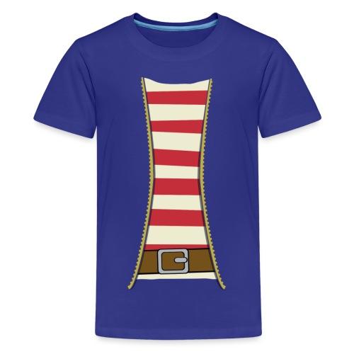 Pirate costume - Teenage Premium T-Shirt