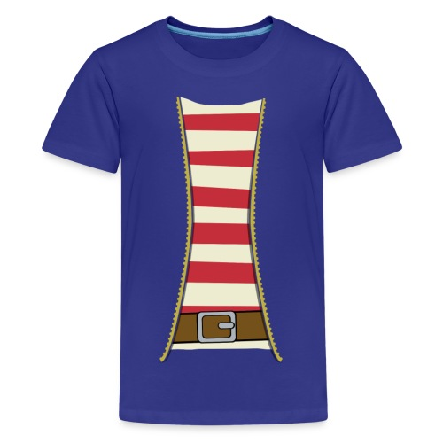 Pirate costume - Teenage Premium T-Shirt