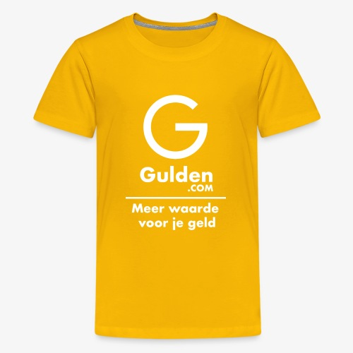NLG - Gold Cryptocurrency - Early Adopter - Teenage Premium T-Shirt