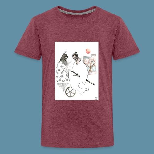 Samurai copia jpg - Maglietta Premium per ragazzi