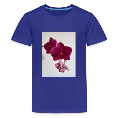 Orchideen lila - Teenager Premium T-Shirt