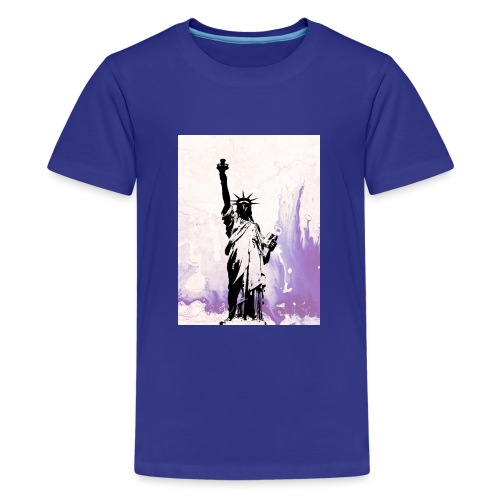 Purple liberty - Camiseta premium adolescente