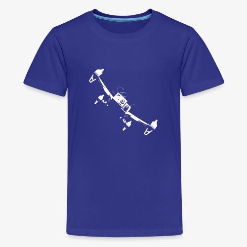 quadflyby2 - Teenage Premium T-Shirt