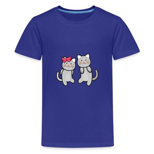 Kotki - Koszulka młodzieżowa Premium