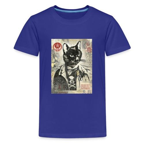 Cat Graffity - Teenager Premium T-Shirt
