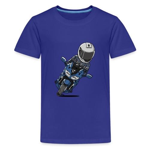 0790 FJR PhantomBlue - Teenager Premium T-shirt