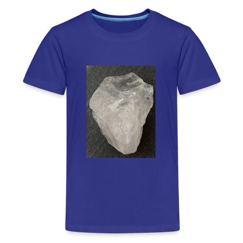 Bergkristall*Juttas Steinsammlung* - Teenager Premium T-Shirt