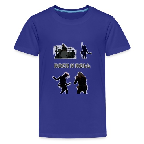rocknroll - Premium-T-shirt tonåring