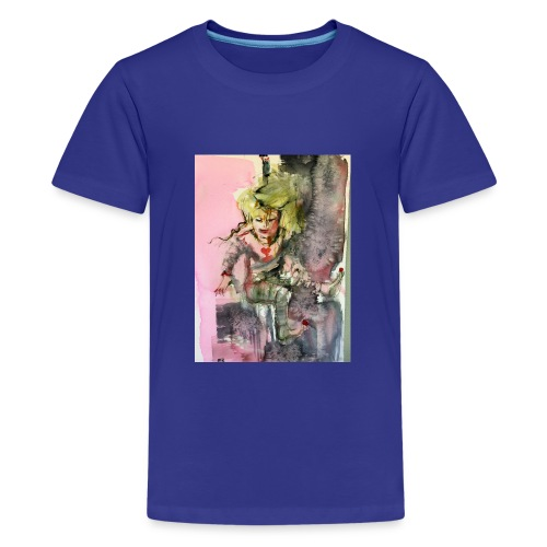 IMG 0764 Happy - Premium-T-shirt tonåring