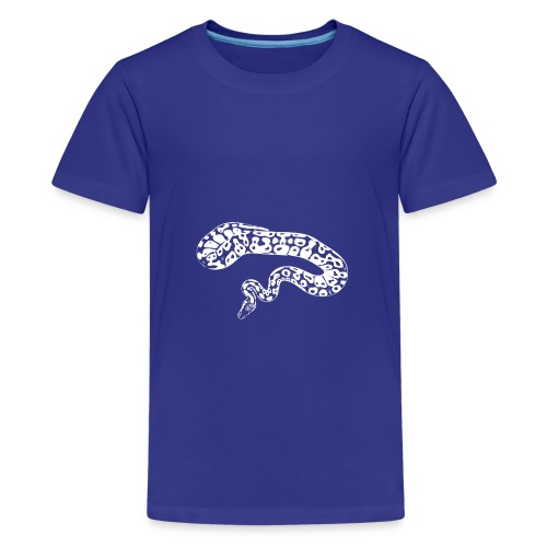 python white pattern - Teenager Premium T-Shirt