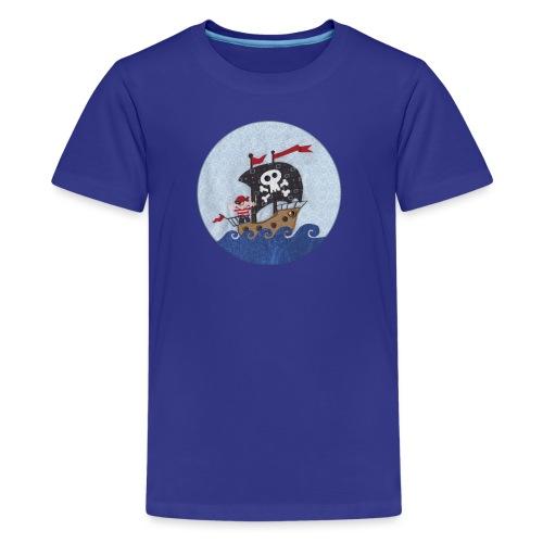 Piratenschiff - Teenager Premium T-Shirt
