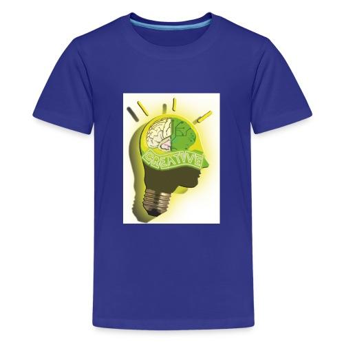 CREATIVE_SNARF - Camiseta premium adolescente
