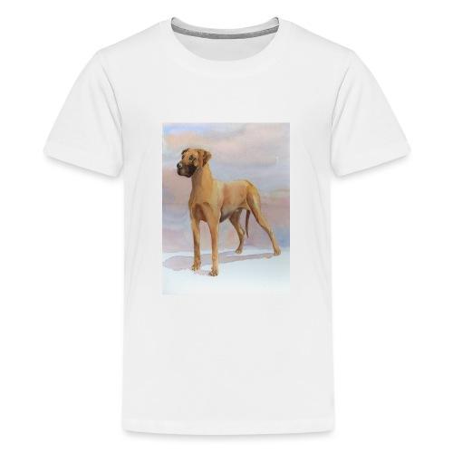 Great Dane Yellow - Teenager premium T-shirt