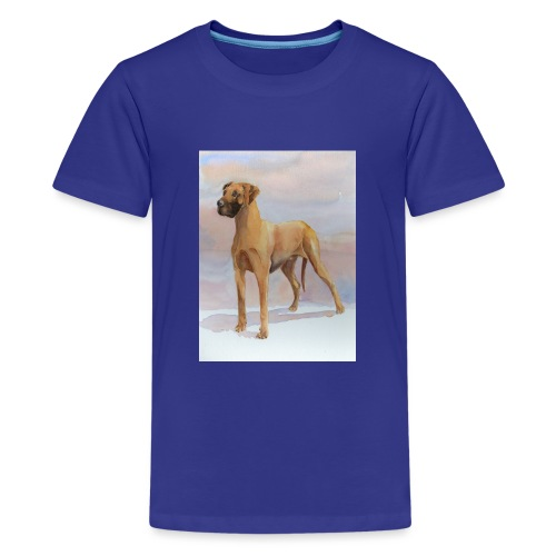 Great Dane Yellow - Teenager premium T-shirt