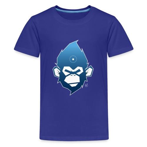 monkeyZ degrade bleu - T-shirt Premium Ado