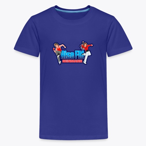 Rise FM Logo - Teenage Premium T-Shirt
