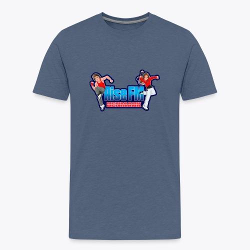 Rise FM Logo - Teenage Premium T-Shirt