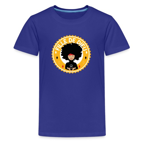 fillededieujaune - T-shirt Premium Ado