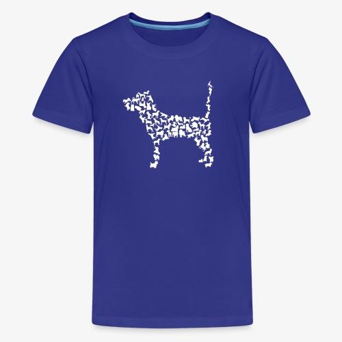 Hunde Kollage - Teenager Premium T-Shirt