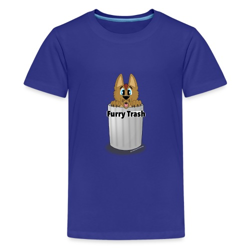 Furry Trash - Teenager premium T-shirt