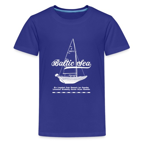 Baltic Sea Folkeboot - Teenager Premium T-Shirt