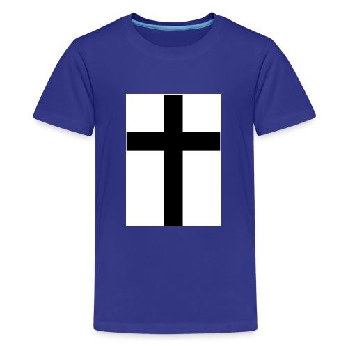 Cross - Premium-T-shirt tonåring