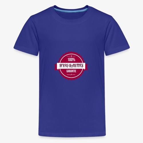 100% hyperaktifs garantie (magenta) - T-shirt Premium Ado