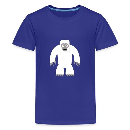 Yeti - Teenager Premium T-Shirt