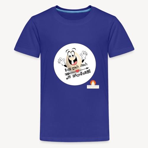 Fang mich doch Du Eierloch - Teenager Premium T-Shirt