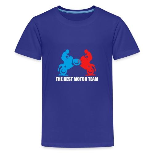 Najlepszy zespół motocyklistów - Koszulka młodzieżowa Premium