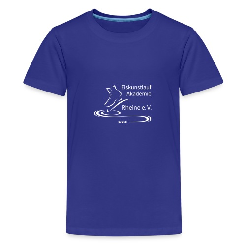 EARheine Logo weiss - Teenager Premium T-Shirt