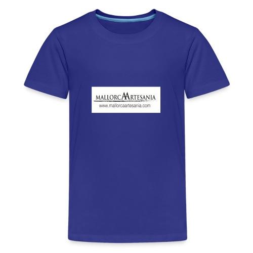 Mallorca Artesania con url - Camiseta premium adolescente