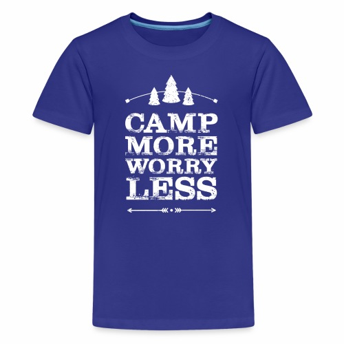 Camp more weiss - Teenager Premium T-Shirt