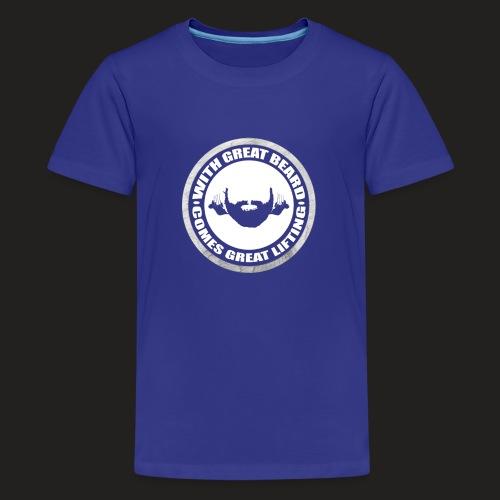 BEARD RESP - Teenage Premium T-Shirt