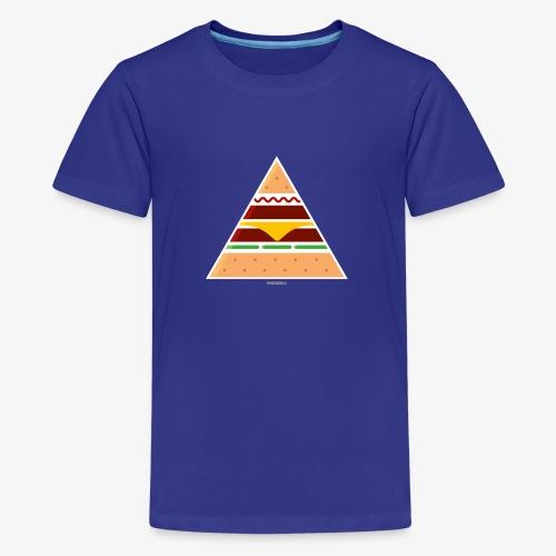 Triangle Burger - Maglietta Premium per ragazzi