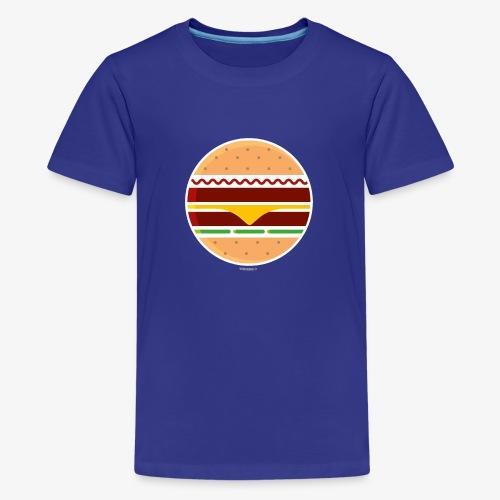 Circle Burger - Maglietta Premium per ragazzi