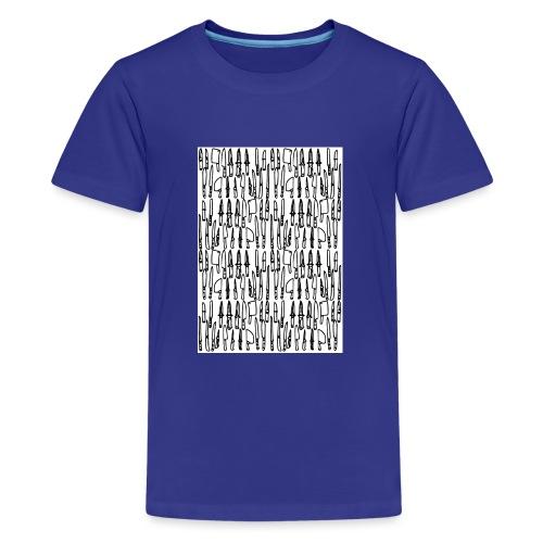 Messer - Teenager Premium T-Shirt