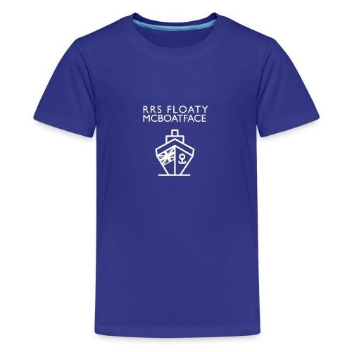 Floaty McBoatface tee - Teenage Premium T-Shirt